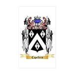Capellero Sticker (Rectangle 50 pk)