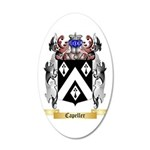 Capeller 35x21 Oval Wall Decal