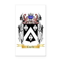 Capelle Rectangle Car Magnet