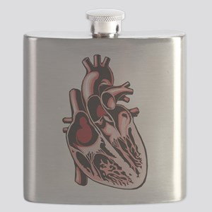 half-human-heart Flask