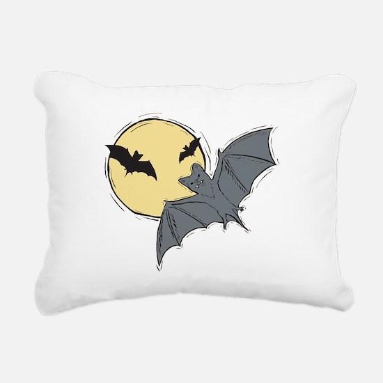 bats.png Rectangular Canvas Pillow