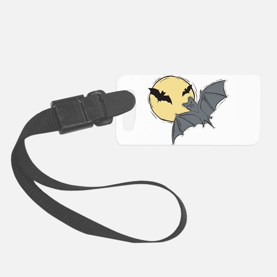 bats.png Luggage Tag
