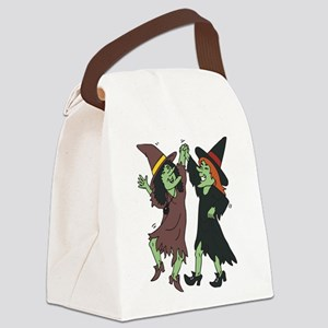 witches,dancing.png Canvas Lunch Bag