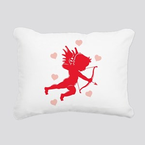 cupid,hearts Rectangular Canvas Pillow