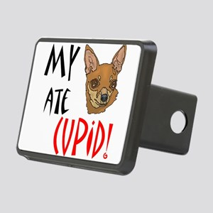my-chihuahua-ate-cupid Rectangular Hitch Cover