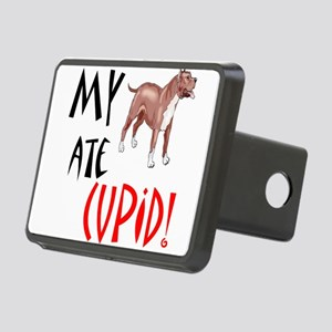 my-pitt-ate-cupid Rectangular Hitch Cover