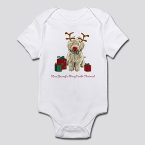 Merry Doodle Christmas Infant Bodysuit