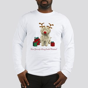 Merry Doodle Christmas Long Sleeve T-Shirt