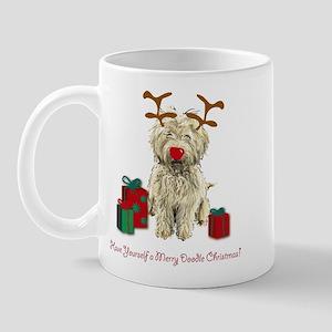 Merry Doodle Christmas Mug