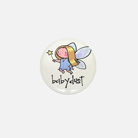 Baby Dust Fairy Mini Button