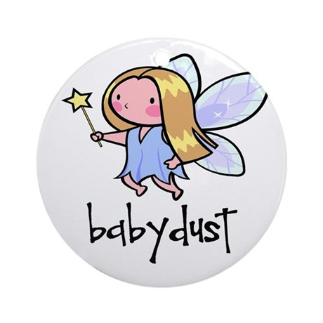 Baby Dust Fairy Ornament (Round)