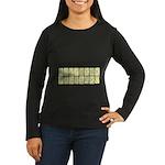Surprise Package! Women's Long Sleeve Dark T-Shirt