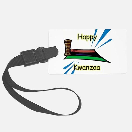 kwanzaa item,happy kwanzaa.jpg Luggage Tag