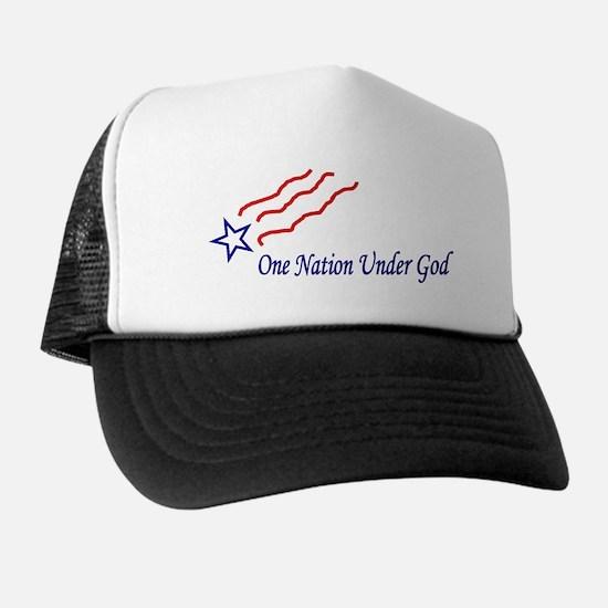 One Nation Star Trucker Hat