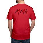 MMA Men's Fitted T-Shirt (dark)