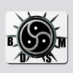 Spiked Collar BDSM Symbol Mousepad