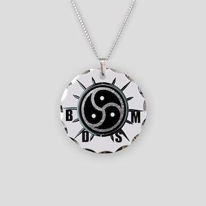 Spiked Collar BDSM Symbol Necklace