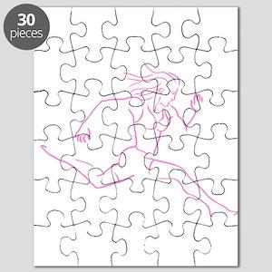 I Am Woman Run Puzzle