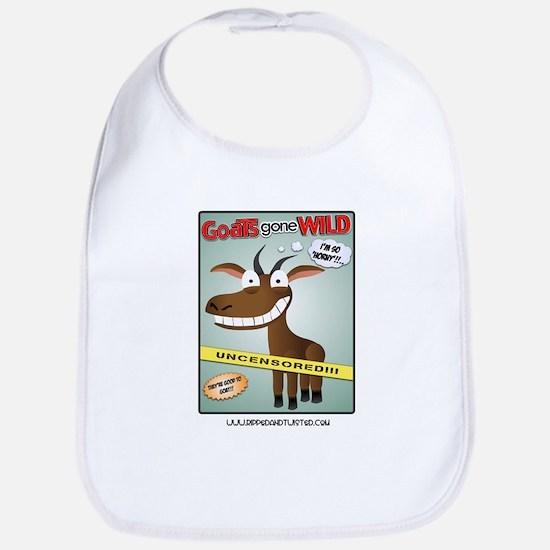 Goats Gone Wild Bib