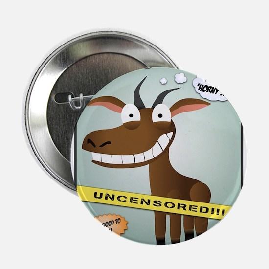 "Goats Gone Wild 2.25"" Button"