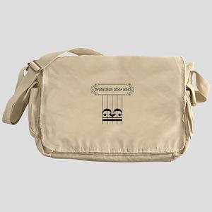 Violas Over All Messenger Bag