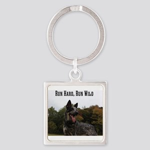 Run Hard, Run Wild Keychains