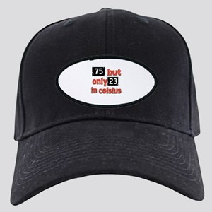 75 year old designs Black Cap