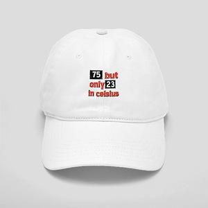 75 year old designs Cap