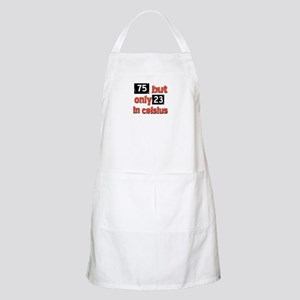 75 year old designs Apron