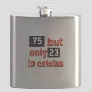 75 year old designs Flask
