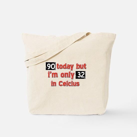 90 year old designs Tote Bag