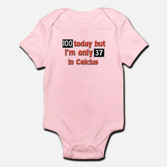 100 year old designs Infant Bodysuit