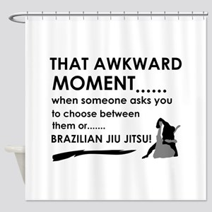 Cool Brazilian Jiu Jitsu designs Shower Curtain