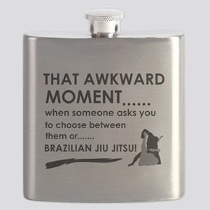 Cool Brazilian Jiu Jitsu designs Flask