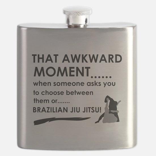 Cool Brazilian Jiu Jitsu designs Flask