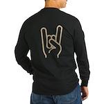 Metal Horns Long Sleeve T-Shirt