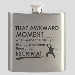 Cool Escrima designs Flask