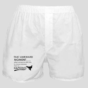 Cool Hapkido designs Boxer Shorts