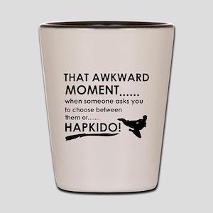 Cool Hapkido designs Shot Glass