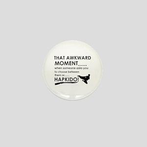 Cool Hapkido designs Mini Button