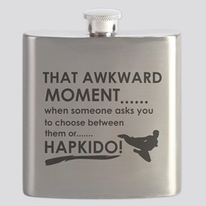 Cool Hapkido designs Flask