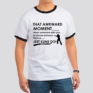 Cool Jeet Kune Do designs Ringer T