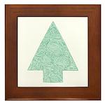 Pine Tree Framed Tile