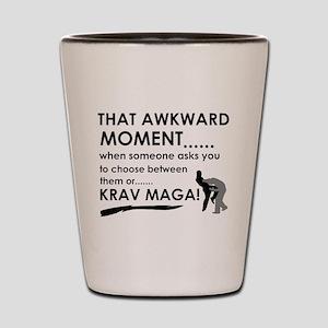 Cool Krav Maga designs Shot Glass