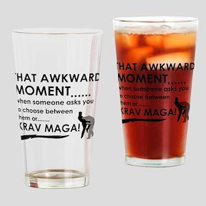 Cool Krav Maga designs Drinking Glass