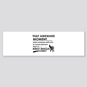 Cool Krav Maga designs Sticker (Bumper)