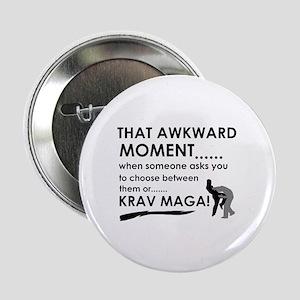 """Cool Krav Maga designs 2.25"""" Button"""