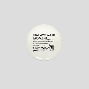 Cool Krav Maga designs Mini Button