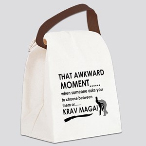 Cool Krav Maga designs Canvas Lunch Bag