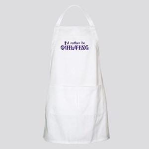 I'd Rather Be Quilting  BBQ Apron